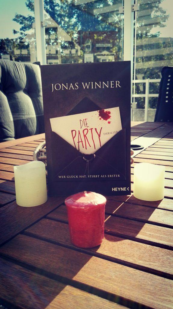 """Buchrezension zu """"Die Party"""" von Jonas Winner (Heyne Verlag)"""