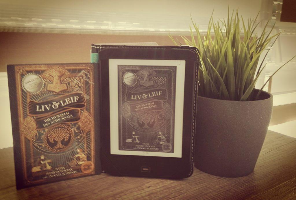 """Buchrezension zu """"Liv und Leif / die Wurzeln des Schicksals"""" von Katja Hemkentokrax und Dennis Schwak (Arena Verlag) (Ebook)"""