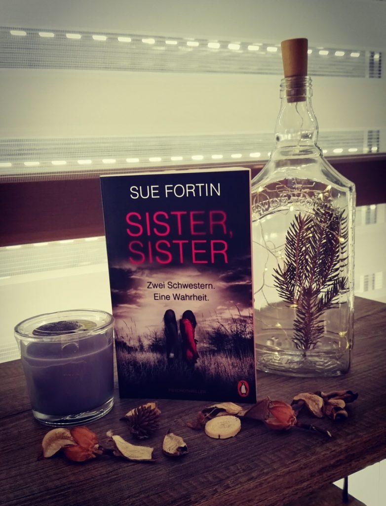 """Buchrezension zu """" Sister Sister"""" von Sue Fortin (Penguin Verlag)"""
