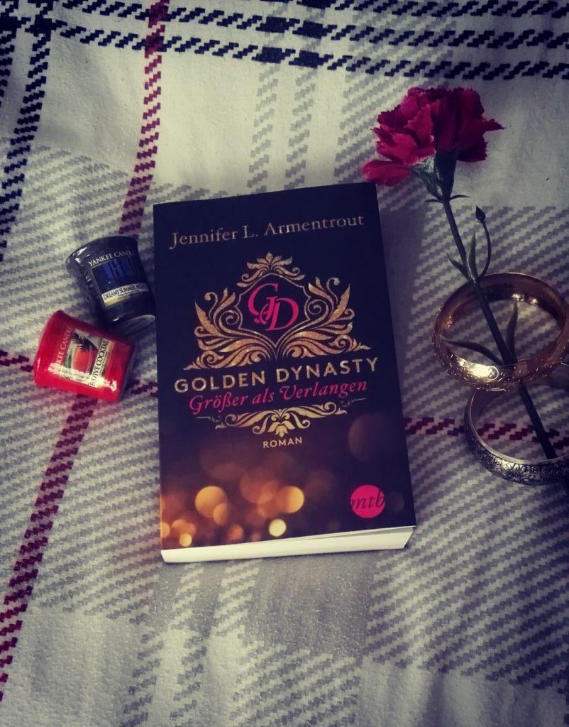 """Buchrezension zu """"Golden Dynasty / Größer als Verlangen"""" von Jennifer L. Armentrout (Mira Taschenbuchverlag)"""