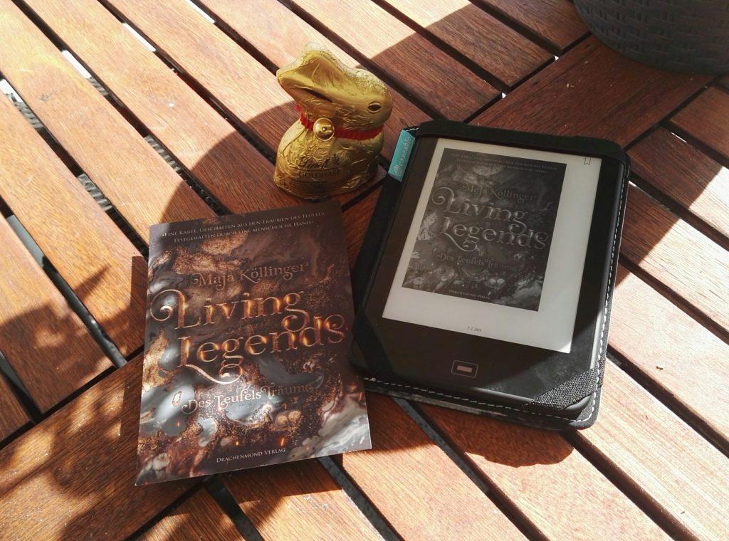 "Buchrezension zu ""Living Legends / Des Teufels Träume"" von Maja Köllinger (Drachenmondverlag)"