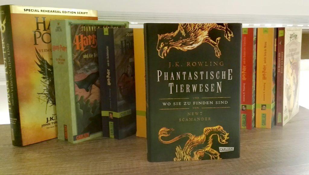 """Buchrezension zu """"Phantastische Tierwesen und wo sie zu finden sind"""" von J. K. Rowling (Carlsen Verlag)"""
